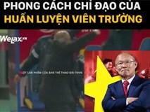 """Clip: Quên Xuân Trường, Tiến Dũng đi, """"ông chú quốc dân"""" Park Hang-seo mới xứng danh đáng yêu nhất U23 Việt Nam"""