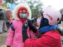 Học sinh Hà Nội nghỉ học vì trời rét dưới 10 độ C