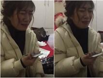 Clip: Cô dâu mếu máo khóc như mưa vì mẹ trốn về không chờ gặp mặt trong đám cưới