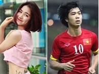 Dân mạng 'đào mộ' clip Công Phượng trả lời rất 'cứng' khi được hỏi về tình cũ - Hòa Minzy