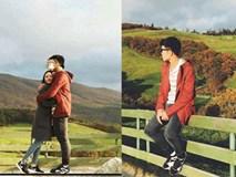 Ngất ngây ở trại cừu mà chàng híp Xuân Trường cùng bạn gái chụp ảnh sống ảo