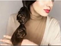 Clip: Tuyệt chiêu tóc tết lệch bên cực kỳ nữ tính cho nàng đón tết