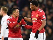 """Man Utd thua đau trong ngày ra mắt """"bom tấn"""" Alexis Sanchez"""
