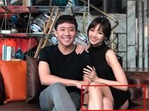 Hari Won bị soi ngồi hớ hênh, để lộ vòng 3 khi mặc đồ ngắn cũn