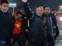 HLV Park Hang Seo lên Phố núi cảm ơn bầu Đức sau kỳ tích U23 Việt Nam
