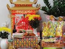 Cách sắp xếp bàn thờ cúng Táo quân đúng và chuẩn nhất để năm mới đầy tài lộc