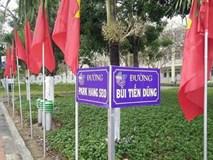 """Một trường học đặt tên """"đường"""" mang tên thầy Park Hang-seo và đội tuyển U23"""