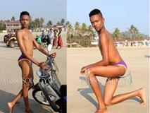 Cười ngất: Thi Nam vương nhưng thí sinh Congo tạo dáng chẳng khác gì Hoa hậu Hoàn vũ