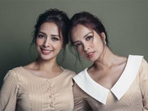 Chị em sinh đôi Thuý Hằng - Thuý Hạnh đẹp không tỳ vết trong bộ hình đón tuổi 40