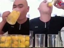 Chàng trai uống 60 quả trứng sống cùng lúc gây sốt mạng xã hội