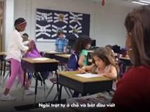 Clip 4 phút khiến người lớn phải giật mình