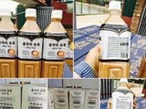 """Trà sữa Hàn Quốc gây """"bão"""" trên mạng xã hội với giá chỉ 25.000 đồng/lít"""