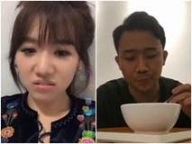 Hari Won cảnh cáo Trấn Thành: 'Ăn cho mập vô thì mày đừng có khóc nha'