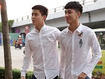 """Bắt gặp 2 """"trai đẹp"""" đội tuyển U23 Việt Nam dạo phố Sài Gòn"""