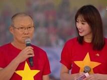Hari Won tự tin trở thành thông dịch viên của HLV Park Hang-seo