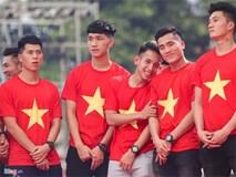 Khoảnh khắc đáng yêu của các chàng trai U23 Việt Nam ở lễ vinh danh