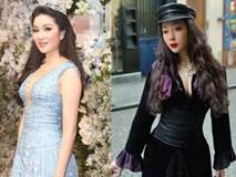 Tái xuất sau 13 năm đăng quang, có ai nhận ra Hoa hậu Nguyễn Thị Huyền với chiếc cằm dài khác lạ này