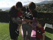 Messi bật mí tên cậu con trai thứ ba, sẽ chào đời cuối tháng này