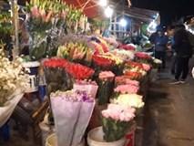 Đến chợ hoa đêm Quảng Bá để thấy Tết đã về thật gần