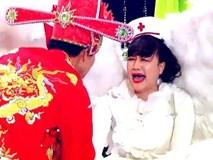 Lộ cảnh Vân Dung khóc lóc thảm thiết, bị kéo lê đi trong Táo Quân 2018
