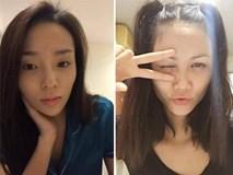Mỹ nhân Việt khác lạ với mặt mộc không son phấn