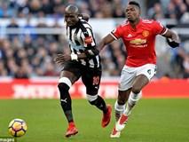 Chơi bệ rạc, Man Utd trả giá bằng thất bại trên sân Newcastle