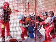 VĐV trượt tuyết Nga gặp tai nạn tại Olympic
