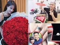 Sao Việt khoe quà, viết lời ngôn tình cho nhau ngày Valentine