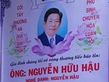 Đám tang diễn viên Nguyễn Hậu: Bạn bè đau buồn đến viếng
