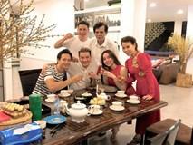 Đàm Vĩnh Hưng xông đất, Kim Lý vui vẻ đón năm mới cùng gia đình Hồ Ngọc Hà