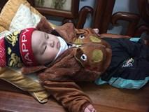 Cái Tết đầu tiên của bé trai sơ sinh nặng 7,1kg ở Vĩnh Phúc