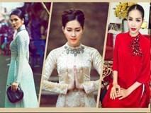 Say lòng ngắm Tăng Thanh Hà, Thu Thảo, Phạm Hương đọ sắc với áo dài