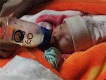 Ninh Bình: Bé gái sơ sinh 2kg bị bỏ rơi trước cổng chùa cùng mẩu giấy ghi lời nhắn của mẹ