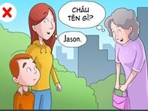 8 điều cha mẹ không nên làm với con mình