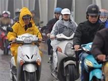 Đợt không khí lạnh mới tràn về sau Tết, Hà Nội giảm nhiệt và mưa rét 13 độ C