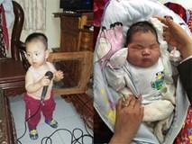 """Gặp lại bé trai có cân nặng """"khổng lồ"""" ngay lúc lọt lòng ở Nam Định"""