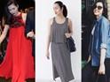 Nhìn lại phong cách của bà bầu đẹp nhất Vbiz Tăng Thanh Hà qua 3 lần bầu bí