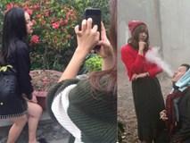 Những bức hình cho thấy để có ảnh đẹp đăng Facebook dân mạng đã vất vả như thế nào!