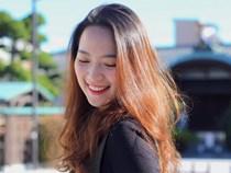 Nhan sắc khả ái của Á khôi du học sinh Việt tại Nhật Bản