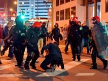 Cảnh sát đột tử khi ngăn bạo loạn trận Bilbao - Spartak Moscow