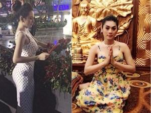 """Những sao Việt từng """"hứng gạch"""" vì lỡ mặc đồ phản cảm nơi linh thiêng"""