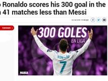 Vua Ronaldo 300 bàn, nhường đá penalty: Thông điệp ngầm về nhóm 'BBC'