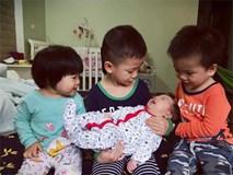 """Dạy con tự lập từ nhỏ, mẹ """"5 năm sinh liền 4 con"""" vẫn nhàn tênh, đọc sách mỗi ngày"""