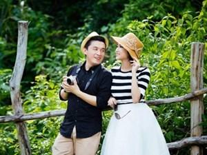 Vợ chồng Lam Trường tình tứ giữa thiên nhiên thơ mộng