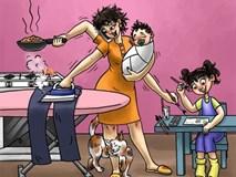 Bộ tranh chứng minh mọi bà mẹ đều là siêu nhân