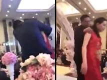 Say xỉn, bố chú rể cưỡng hôn cô dâu ngay tại lễ cưới khiến quan khách 'choáng váng'