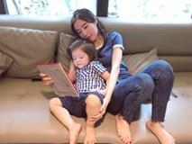 Để tóc dài, con trai của Elly Trần trông 'xinh' như con gái