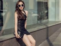 Hoa hậu Kỳ Duyên khoe chân dài 1m1 với gu mặc sang chảnh, gợi cảm