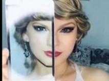 Sốc khi xem cô gái biến thành Taylor Swift