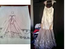 Cô gái trẻ nhờ bạn thân may váy cưới giá 15 triệu và kết cục